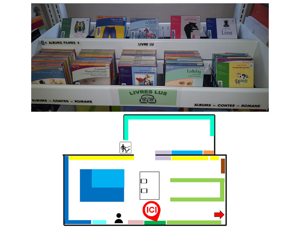 Fonds livres lus - Section Jeunesse