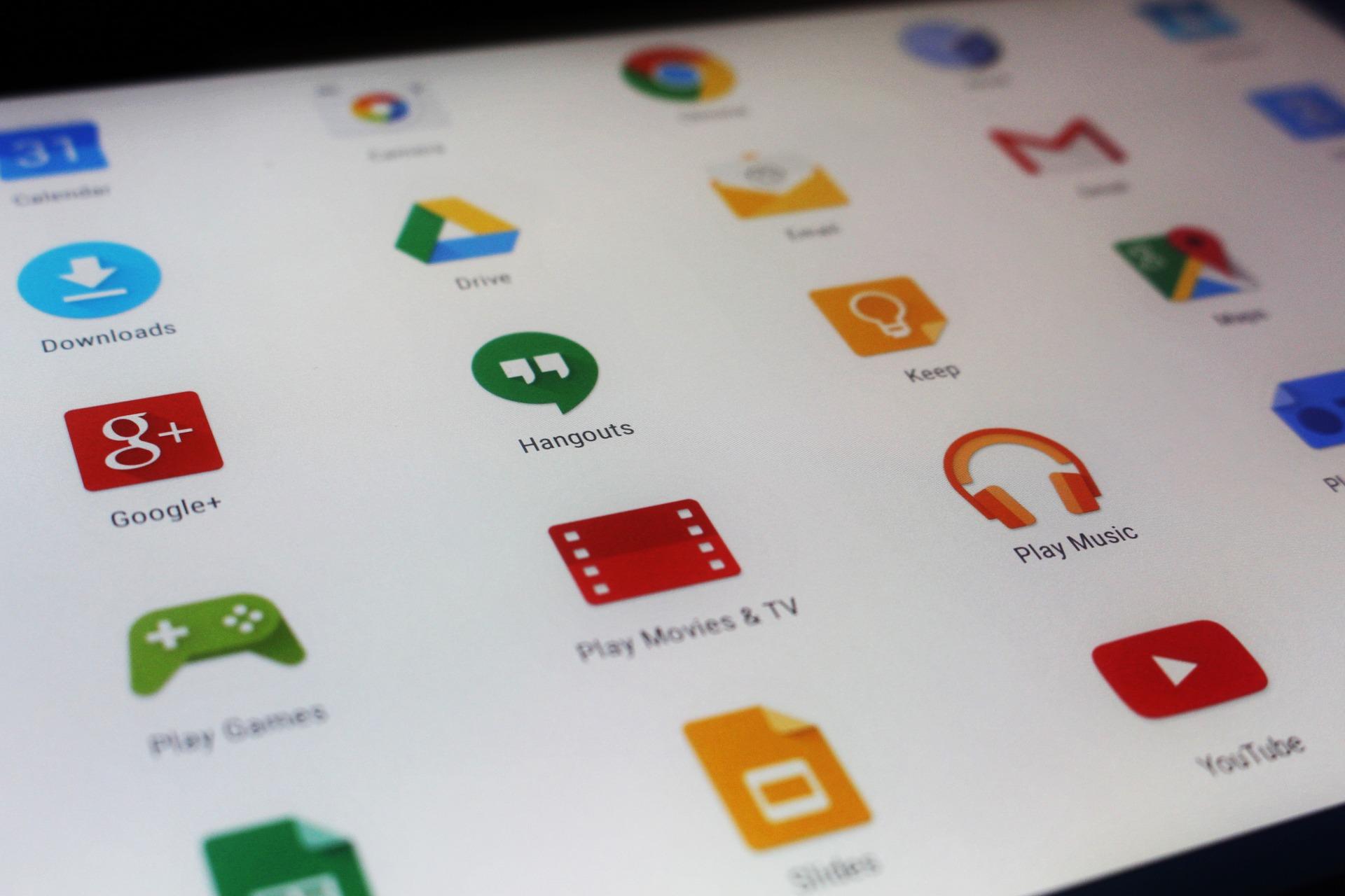 Avo'Tabs : Découverte des applications Google |